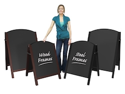 premier chalk a-boards