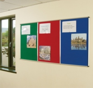 School Notice Board in Coridoor